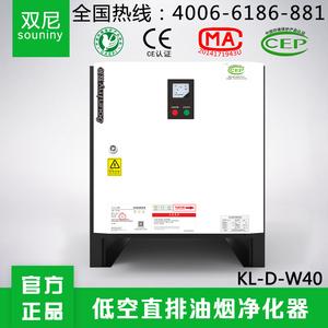 双尼低空直排油烟净化器4000风量95%目测无烟净化效率